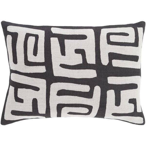 Bomaderry 100% Linen Lumbar Pillow Cover by World Menagerie